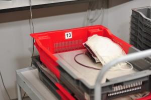 UKE Blutkonserve Transport