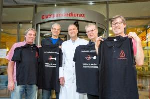 Blutspende, Dartspieler, Dr.Sven Peine