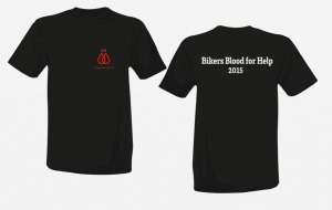 Bikers Blood for Help BBFH Aktions T-Shirt 2015