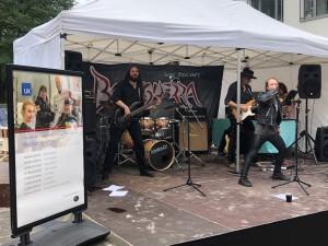 Guido Stoecker und Band gaben ihr Debut am 5.BBFH-Tag