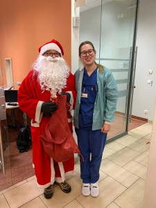 und Anne Haarburger freuen sich über den Besuch!
